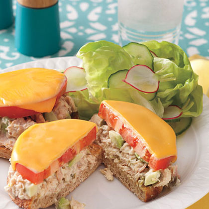 Spicy Tuna and Avocado Melts