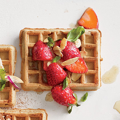 Berry and Browned Butter Waffle Recipe