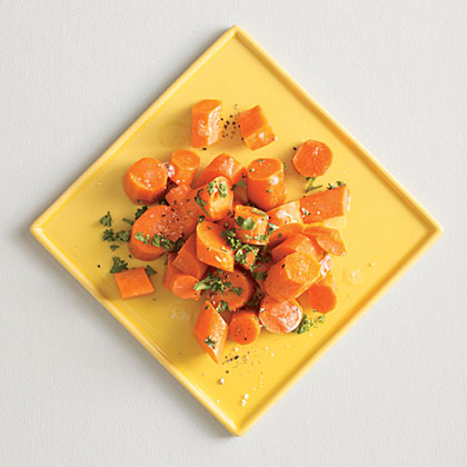 Citrusy Carrots with Parsley Recipe