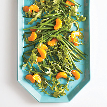 Green Bean, Arugula, and Clementine Toss Recipe