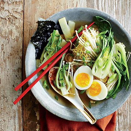 Mushroom Ramen Bowl Recipe