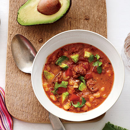 Quick Pork Posole