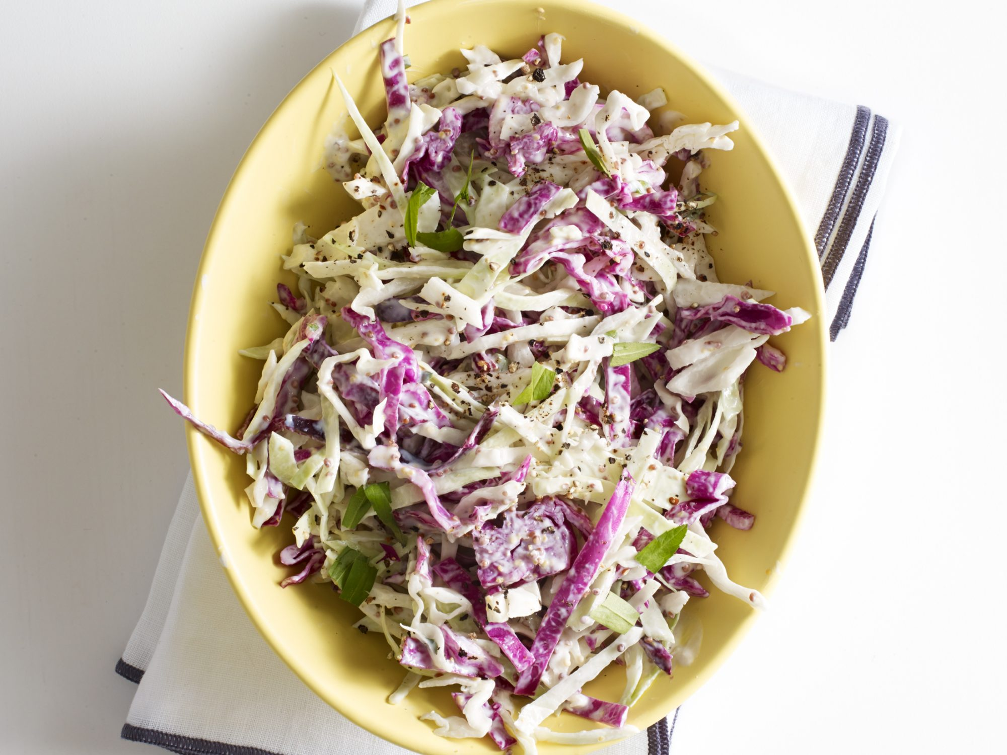 Shredded Cabbage Slaw