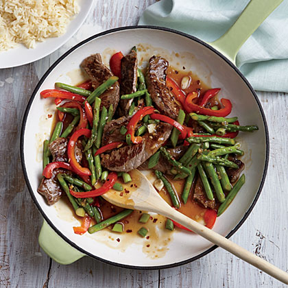 Steak And Asparagus Stirfry