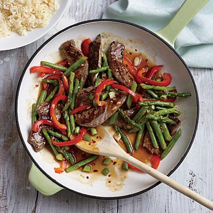 Steak and Asparagus Stir-Fry