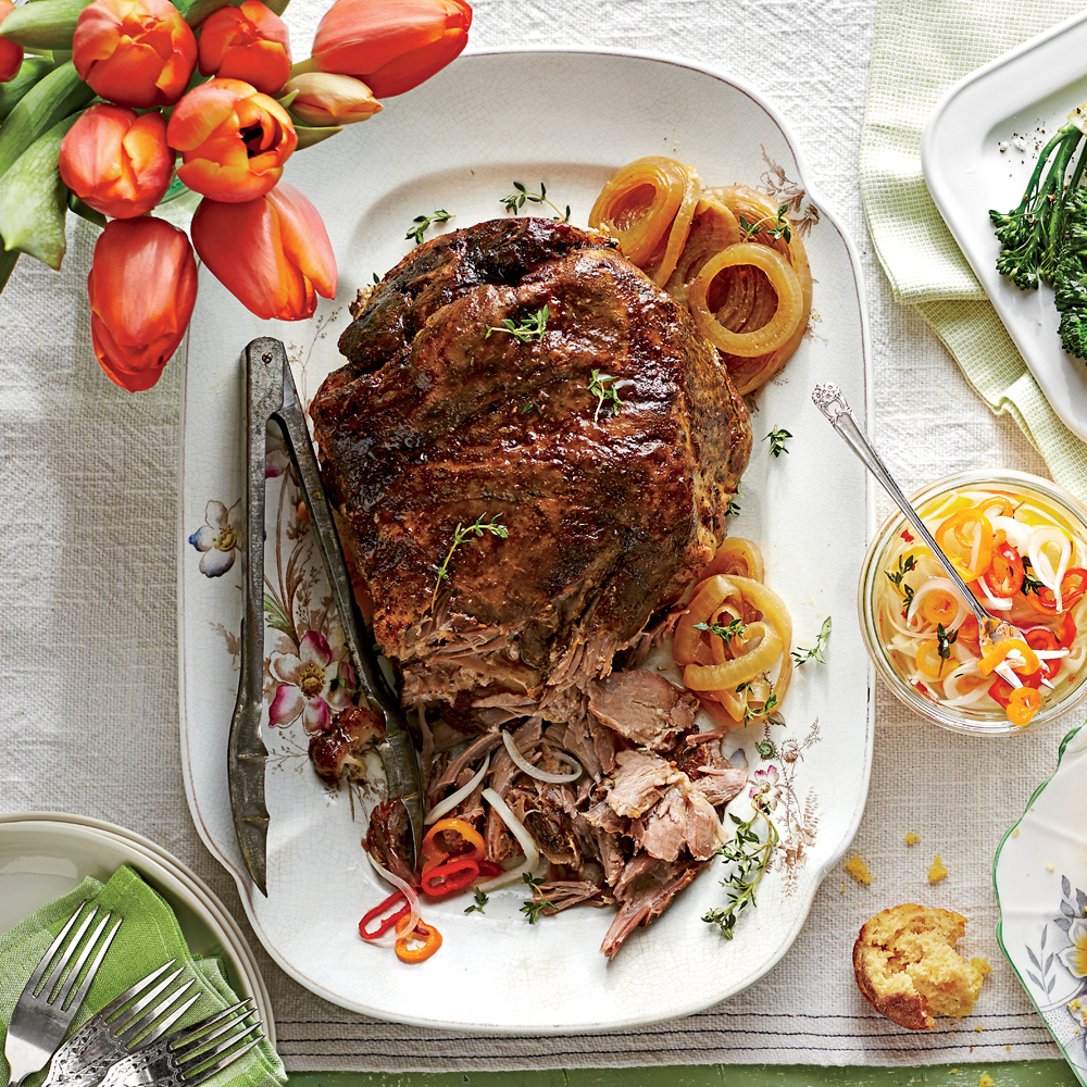 Southern living pulled pork recipe