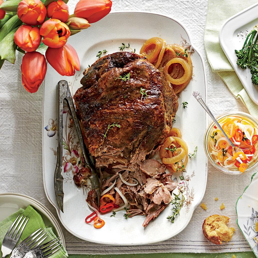 5-Ingredient Slow-Cooker Pulled Pork Recipe MyRecipes