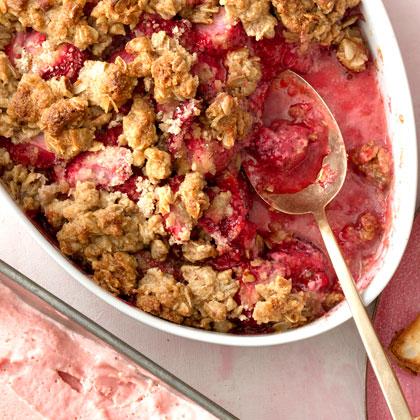 <p>Strawberry Crumble</p>