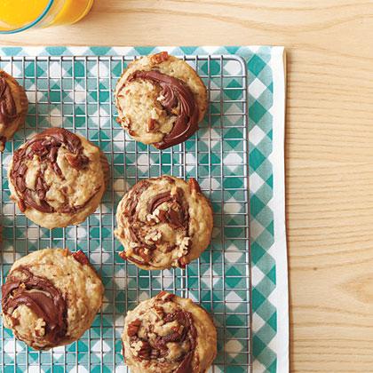 Banana-Nutella Muffins Recipe