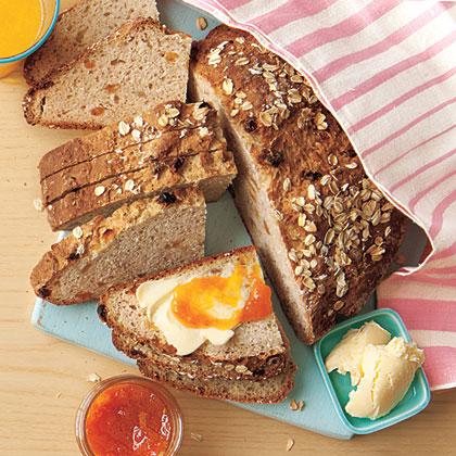 Oatmeal-Raisin Soda Bread