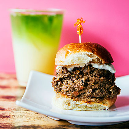 Black Cardamom Beef Sliders (Holy Cow Pav)