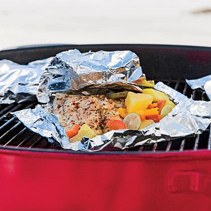 Caribbean Fish Packets Recipe