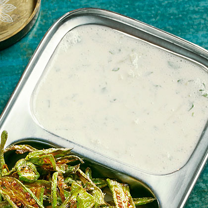 Double Cucumber Raita (Spiced Yogurt)