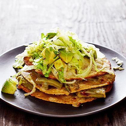Stacked Nopales Quesadillas Recipe