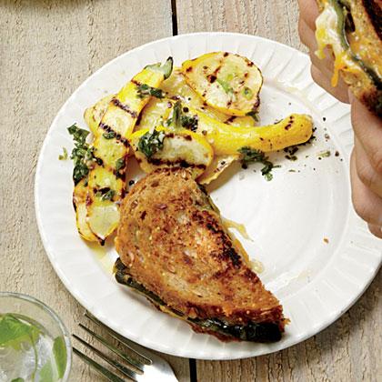 Grilled Summer Squash Gremolata Recipe