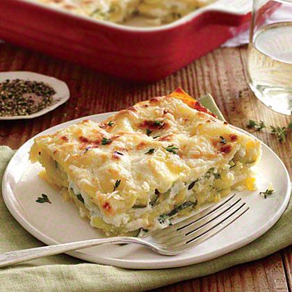 Lasagna with Zucchini Recipe