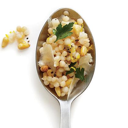Pecorino and Parsley Couscous