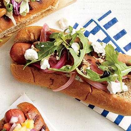 Pickled Pink Dog Hot Dog Topper