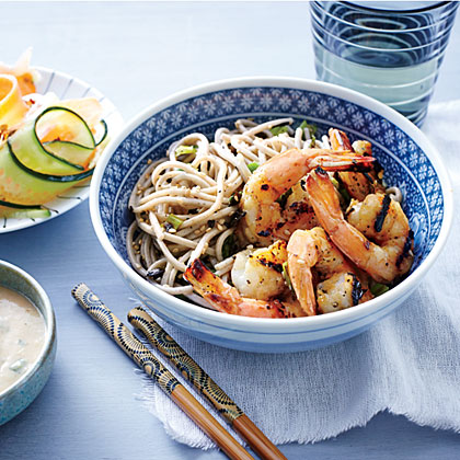 Shrimp with Miso-Ginger Sauce