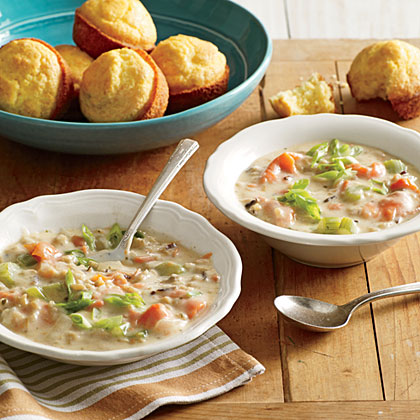 Smoked Salmon Chowder Recipe | MyRecipes