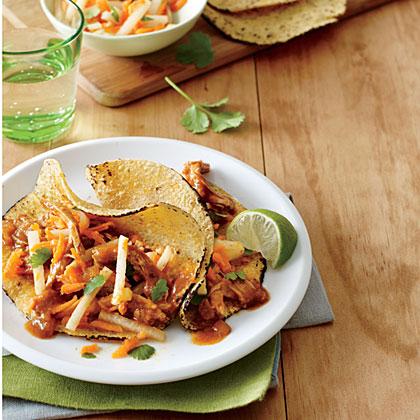 Smoky Shredded Pork TacosRecipe