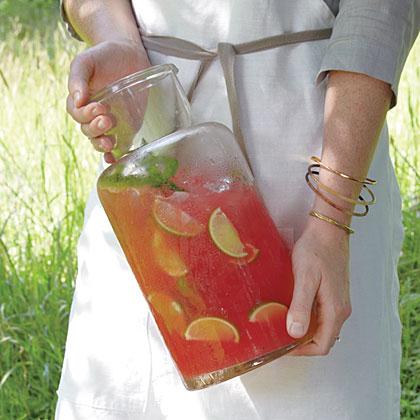 Tequila-Watermelon Refresco