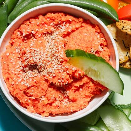 Roasted Carrot-Ginger Dip
