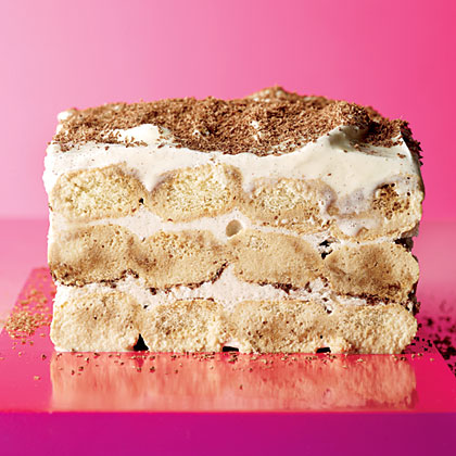Tiramisu Ice Cream Cake Recipe | MyRecipes