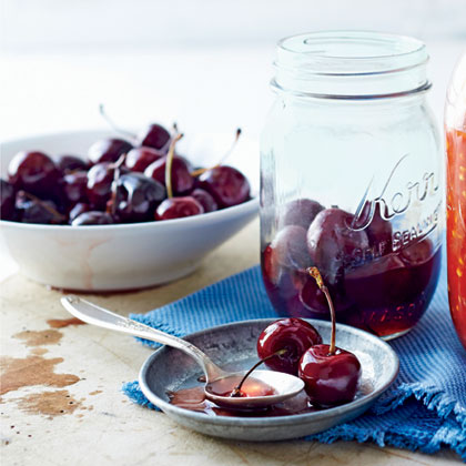 Bourbon-Soaked CherriesRecipe