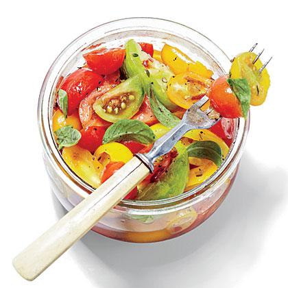 Deep South Dish: Marinated Tomatoes