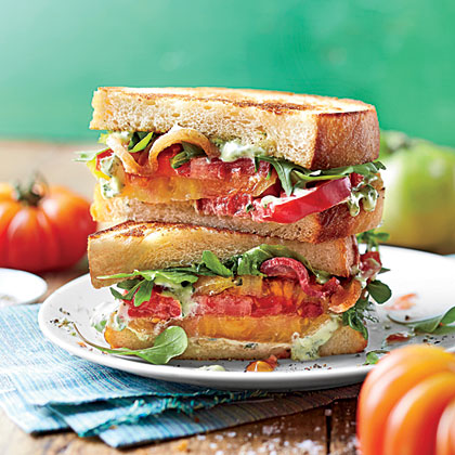Over-the-Top Tomato Sandwich