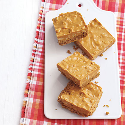 Salted-Peanut Butterscotch Bars