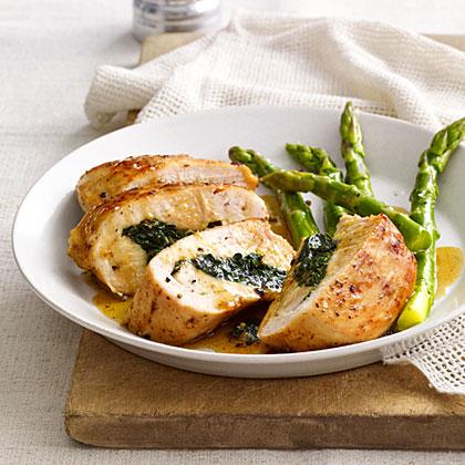 Spinach-Stuffed Chicken
