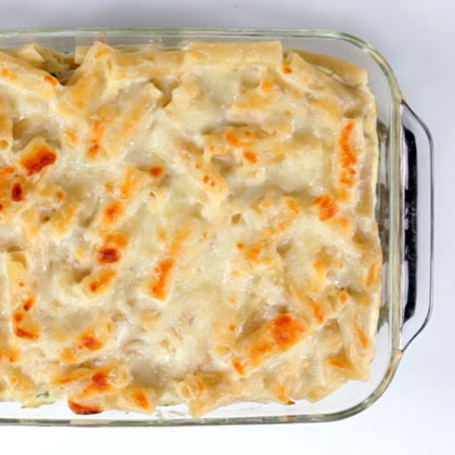 How to Make Three-Cheese Pasta Bake
