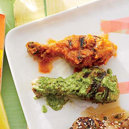 Chicken Drumsticks with Singapore Sauce