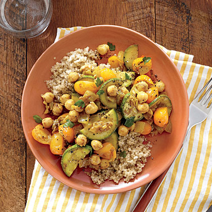 <p>Chickpea and Vegetable Tagine</p>
