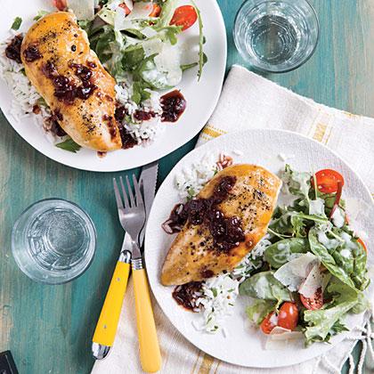 Chipotle Chicken with Coriander Rice