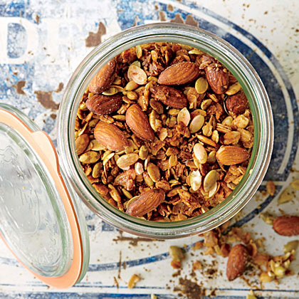 Orange, Pumpkin Seed, and Smoked Almond Granola