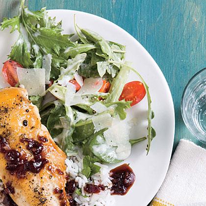 Simple Salad with Parmesan