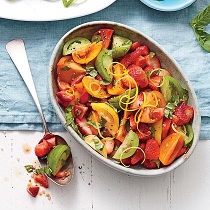 Strawberry-Tomato Salad Recipe