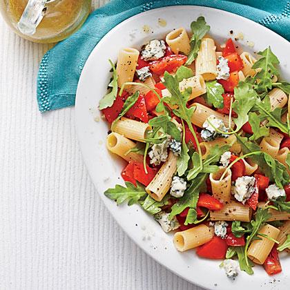 Tomato-and-Gorgonzola Pasta Salad Recipe