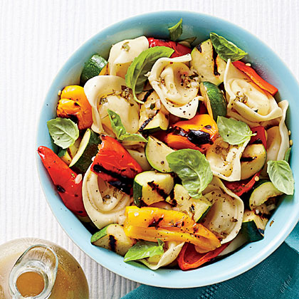 Tortelloni-and-Grilled Vegetable SaladRecipe