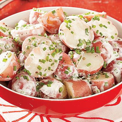 Chive Potato Salad Recipe