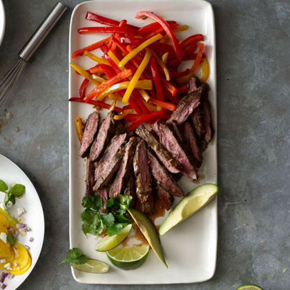 <p>Pepper Steak Fajitas</p>