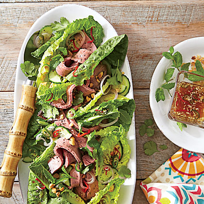 <p>Thai Roast Beef Salad</p>