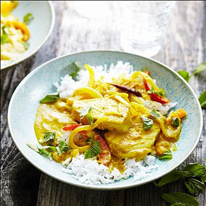 Tuna Coconut Curry