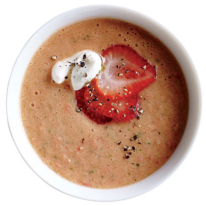 Berry-Balsamic Tomato Soup
