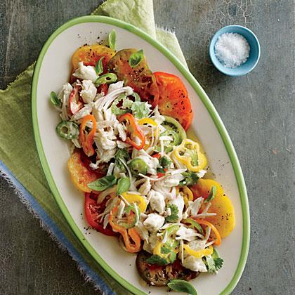 Crab and Heirloom Tomato Salad