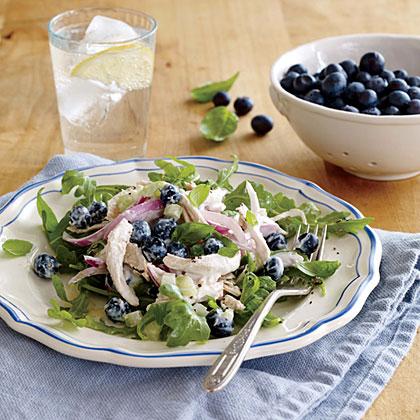 <p>Creamy Blueberry Chicken Salad</p>