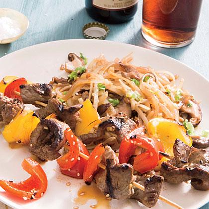 Mushroom-Ginger Noodles